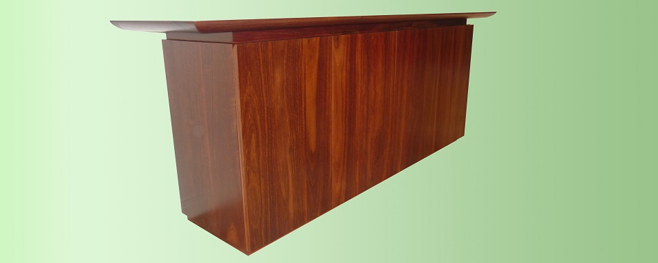 Jarrah buffet - manufactured for Jarrahdale Furniture