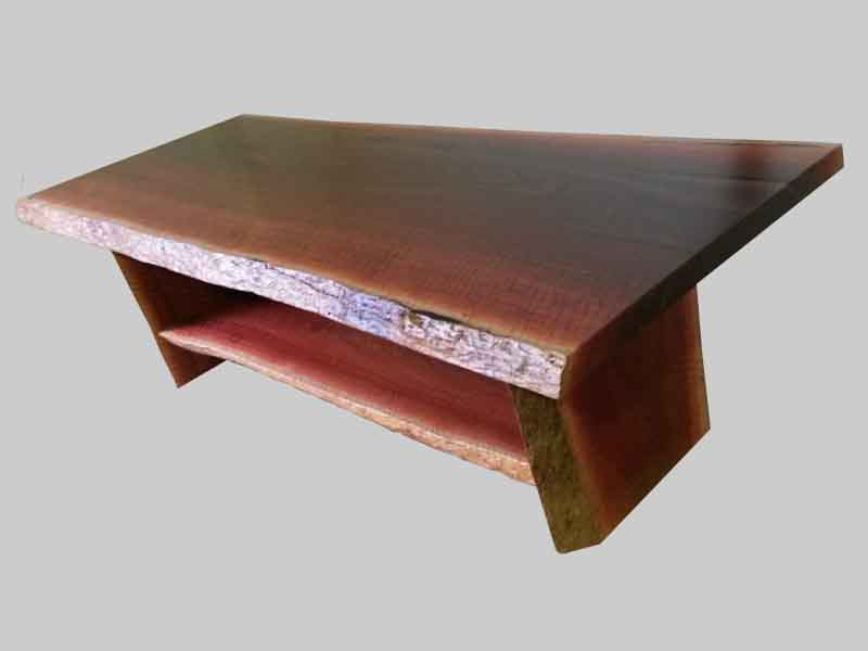 Jarrah natural edge coffee table