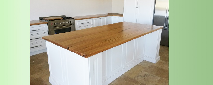 Marri island and other kitchen bench tops