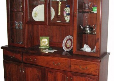 Jarrah wall unit - Bettenay