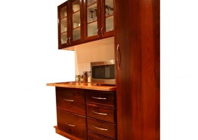 Jarrah cabinets