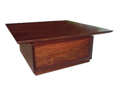 Jarrah coffee table - maufactured for Jarrahdale Furniture