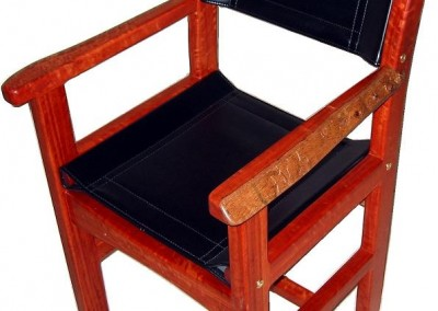Jarrah dining chair - Churchman