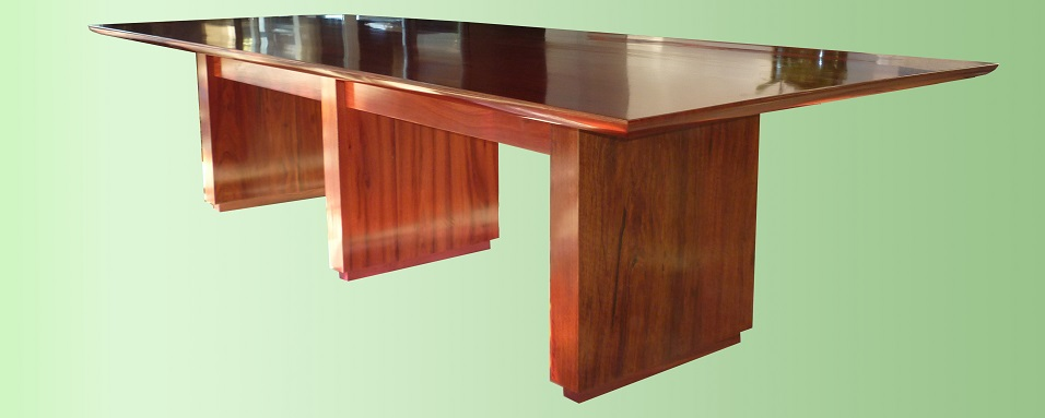 Jarrah dining table - manufactured for Jarrahdale Furniture