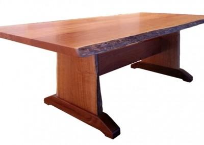Jarrah dining table - Croyden