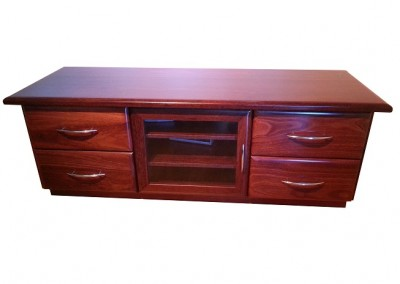 Jarrah entertainment unit - Araluen