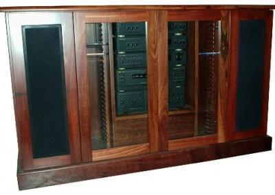 Jarrah stereo unit