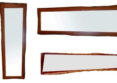 Natural edge frames