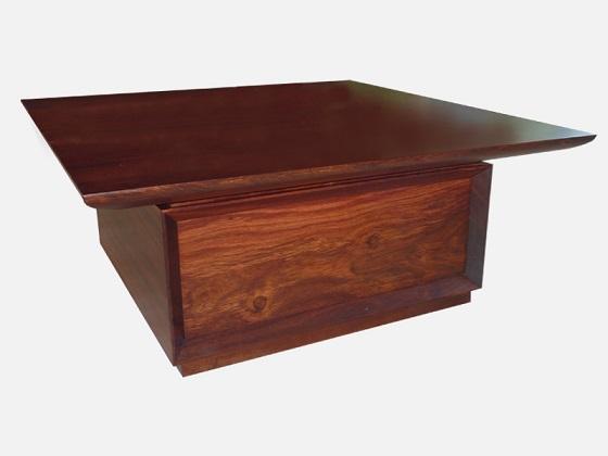 Jarrah coffe table - maufactured for Jarrahdale Furniture