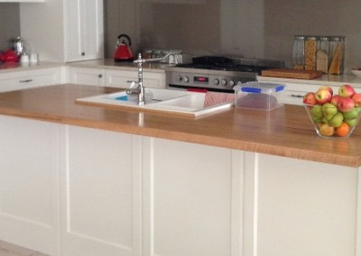 Marri island bench top manufactured for Azztek Kitchens