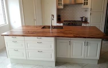 Marri kitchen island bench top