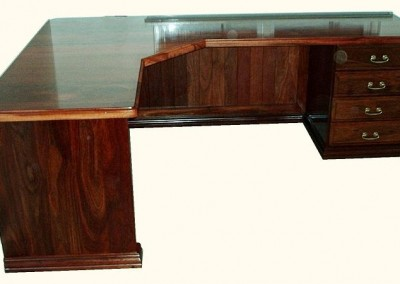 Jarrah office desk