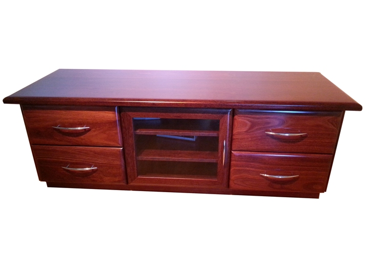 Jarrah entertainment unit - For sale